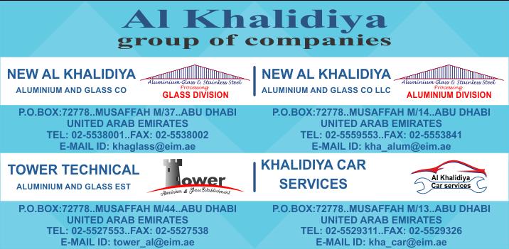 NEW AL KHALIDIYA ALUMINIUM AND GLASS CO LLC (UAE++)